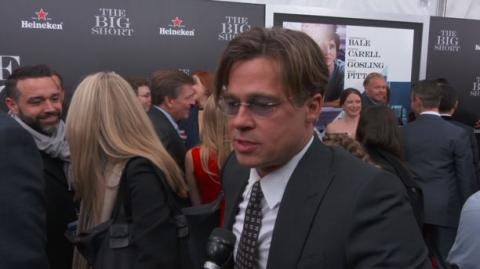 The Big Short Producer BRAD PITT