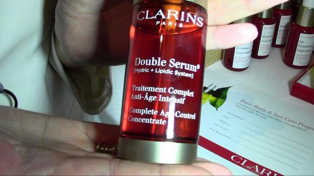Clarins Spa Demo 2015