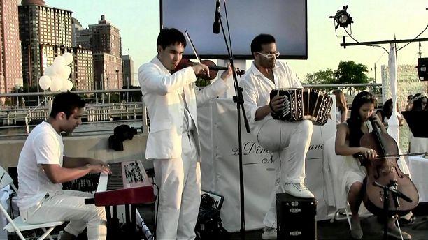 Dîner en Blanc NYC 2015